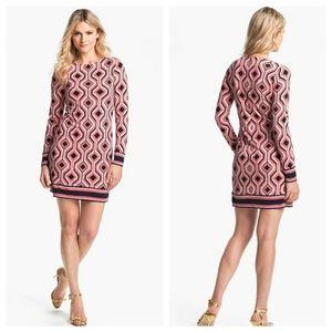 Michael Kors Argyle Print Shift Dress